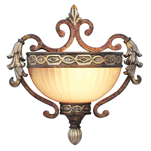 Livex Lighting Livex Lighting Seville Palacial Bronze with Gilded Accents Sconce 8540-64