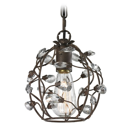 Elk Lighting Elk Lighting Sagemore Bronze Rust Mini-Pendant Light 18141/1