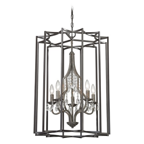 Elk Lighting Elk Lighting Belgique Oil Rubbed Bronze, Malted Rust Pendant Light 32152/5