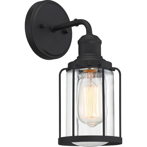 Quoizel Lighting Quoizel Lighting Ludlow Earth Black Sconce LUD8605EK