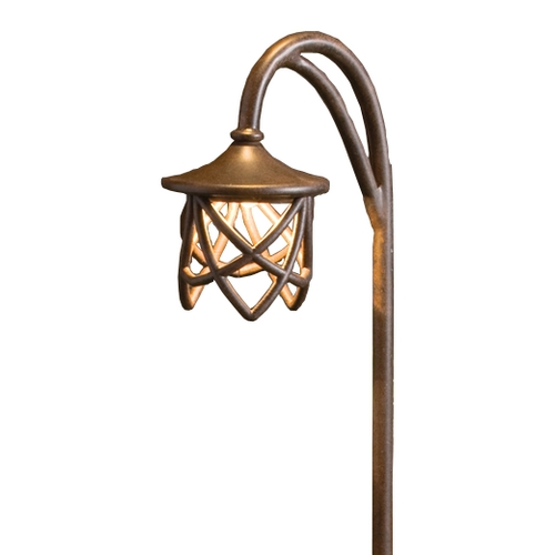 Kichler Lighting Kichler Path Light in Textured Tannery Bronze Finish 15429TZT