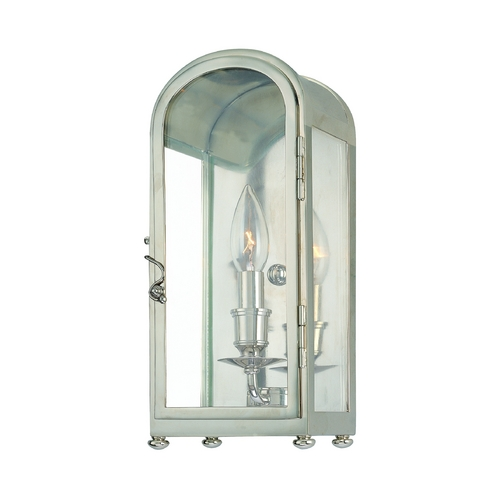Hudson Valley Lighting Sconce Wall Light with Clear Glass in Old Bronze Finish 6471-OB