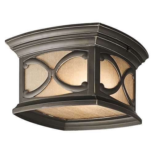 Kichler Lighting Kichler Outdoor Ceiling Light in Bronze Finish 49232OZ
