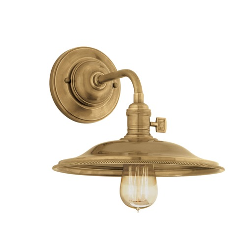 Hudson Valley Lighting Heirloom Aged Brass Sconce 8000-AGB-MS2
