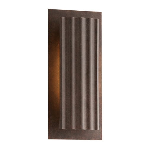 Troy Lighting LED Outdoor Wall Light in Country Rust Finish BL3722