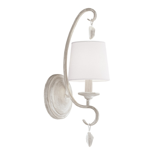 Feiss Lighting Feiss Lighting Caprice Chalk Washed Sconce WB1720CHKW