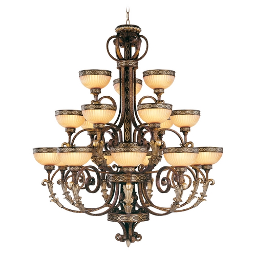 Livex Lighting Livex Lighting Seville Palacial Bronze with Gilded Accents Chandelier 8539-64