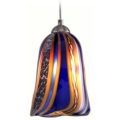 Oggetti Lighting Oggetti Lighting Amore Satin Nickel Mini-Pendant Light 18-156BE