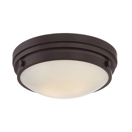 Savoy House Savoy House Lighting Lucerne English Bronze Flushmount Light 6-3350-14-13