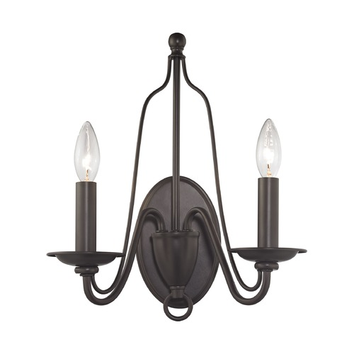 Elk Lighting Elk Lighting Monroe Oil Rubbed Bronze Sconce 32160/2