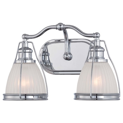 Minka Lavery Chrome Bathroom Light 5792-77