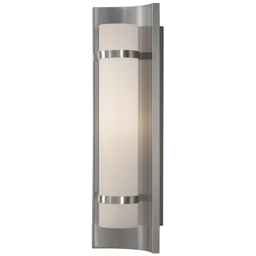 Feiss Lighting Colin Brushed Steel Bathroom Light - Vertical or Horizontal Mounting WB1479BS