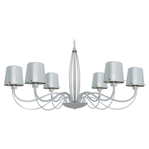 Access Lighting Access Lighting Milano Chrome Chandelier 55533-CH/CHR