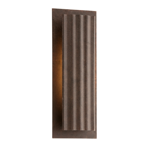 Troy Lighting LED Outdoor Wall Light in Country Rust Finish BL3723