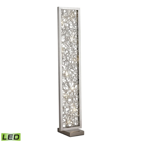 Dimond Lighting Dimond Lighting Silver LED Floor Lamp D2719
