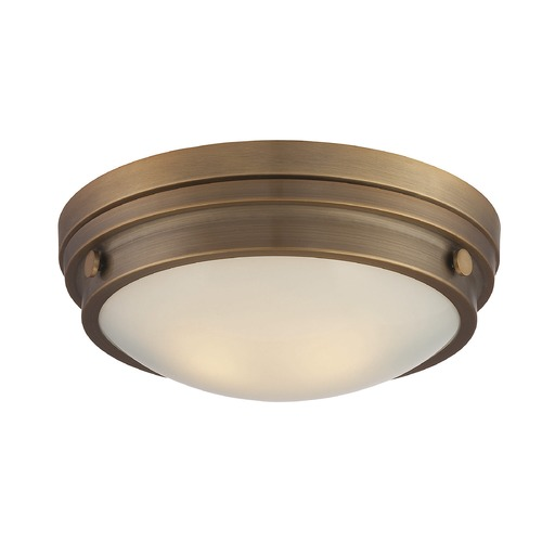 Savoy House Savoy House Lighting Lucerne Warm Brass Flushmount Light 6-3350-14-322