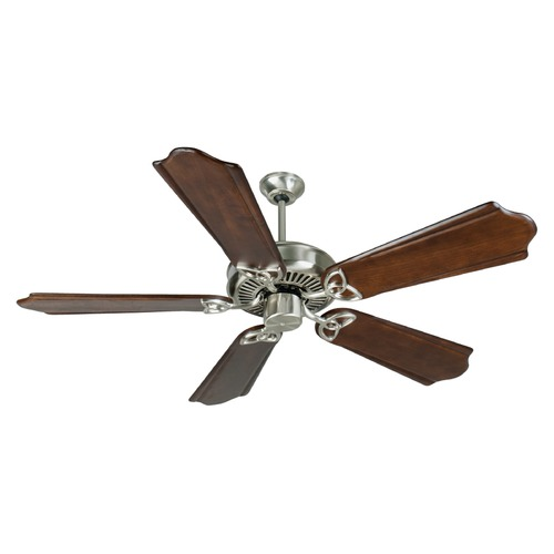 Craftmade Lighting Craftmade Lighting Cxl Stainless Steel Ceiling Fan Without Light K10987