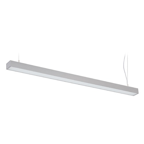 Lite Source Lighting Lite Source Raye Silver LED Island Light with Rectangle Shade LS-19797SILV