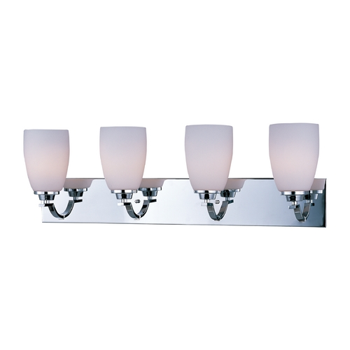 Maxim Lighting Maxim Lighting Rocco Chrome Bathroom Light 20029SWPC