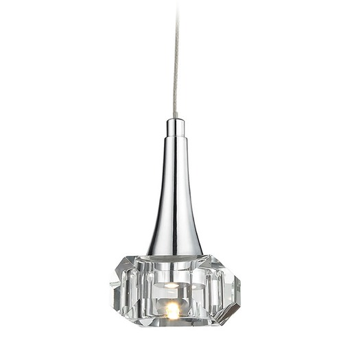 Elk Lighting Elk Lighting Alea Polished Chrome LED Mini-Pendant Light 17165/1