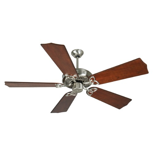 Craftmade Lighting Craftmade Lighting Cxl Stainless Steel Ceiling Fan Without Light K10988