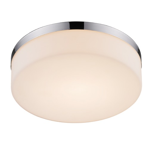 Golden Lighting Golden Lighting Volman Chrome LED Flushmount Light C406-F10D-CH