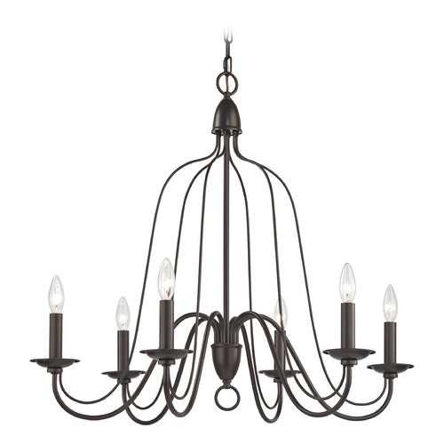 Elk Lighting Elk Lighting Monroe Oil Rubbed Bronze Chandelier 32162/6