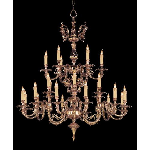 Crystorama Lighting Crystorama Lighting Hot Deal Olde Brass Chandelier 2624-OB