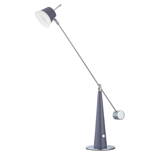 ET2 Lighting Eco-Task Platinum / Polished Chrome LED Task / Reading Lamp E41019-PLPC