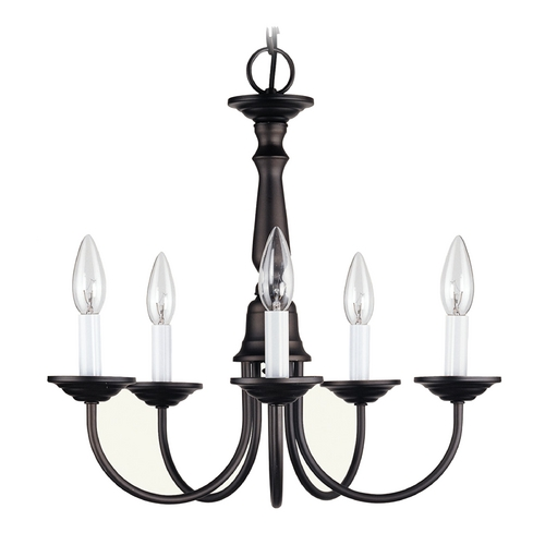 Livex Lighting Livex Lighting Bronze Mini-Chandelier 6030-07