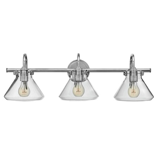 Hinkley Lighting Hinkley Lighting Congress Chrome Bathroom Light 50036CM