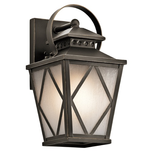 Kichler Lighting Kichler Lighting Hayman Bay Outdoor Wall Light 49291OZ