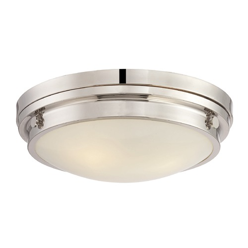 Savoy House Savoy House Lighting Lucerne Polished Nickel Flushmount Light 6-3350-16-109