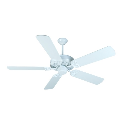 Craftmade Lighting Craftmade Lighting Cxl White Ceiling Fan Without Light K10989