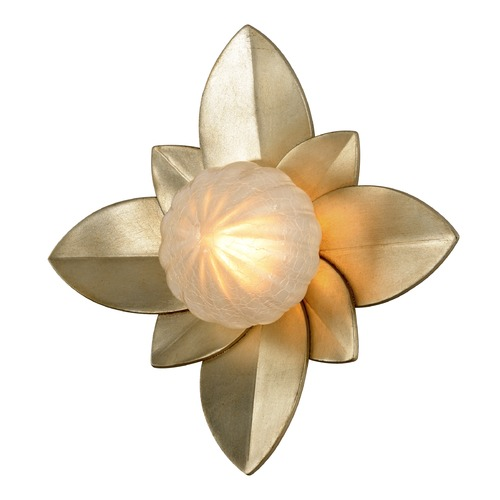 Corbett Lighting Corbett Lighting Gigi Silver Leaf LED Sconce 261-13