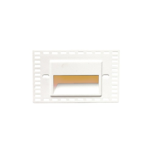 WAC Lighting WAC Lighting Ledme White LED Recessed Step Light with Amber LED WL-LED100TR-AM-WT