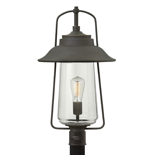 Hinkley Lighting Hinkley Lighting Belden Place Oil Rubbed Bronze Post Light 2861OZ