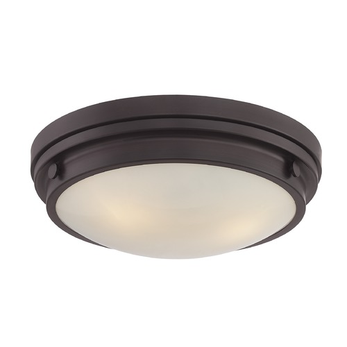 Savoy House Savoy House Lighting Lucerne English Bronze Flushmount Light 6-3350-16-13
