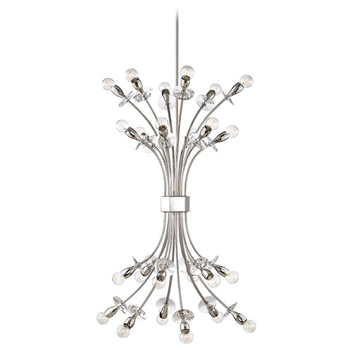 Hudson Valley Lighting Hudson Valley Lighting Alexandria Polished Nickel Chandelier 2724-PN