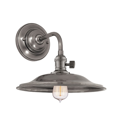 Hudson Valley Lighting Sconce Wall Light in Historic Nickel Finish 8000-HN-MS2