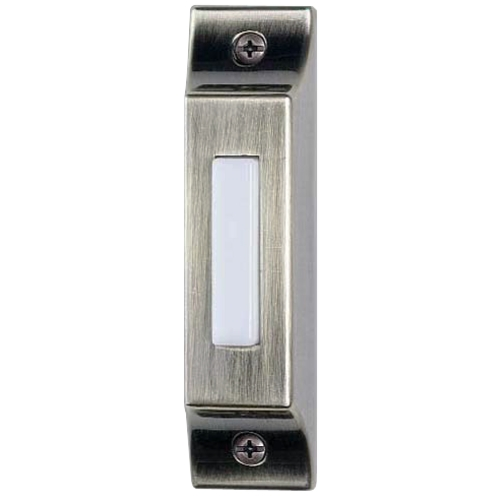 Craftmade Lighting Lighted Surface Mount Doorbell Button BSCB-AB