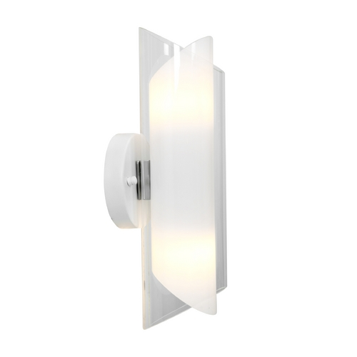 Access Lighting Access Lighting Gyro Brushed Steel Sconce 52063-BS/CLOP