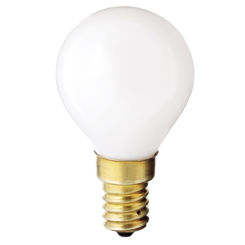 Satco Lighting Incandescent Globe Light Bulb European Base 130V by Satco S3398