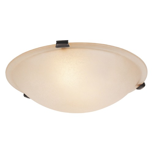Livex Lighting Livex Lighting Oasis Bronze Flushmount Light 5623-07