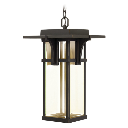 Hinkley Hinkley Manhattan Oil Rubbed Bronze LED Outdoor Hanging Light 2322OZ-LED