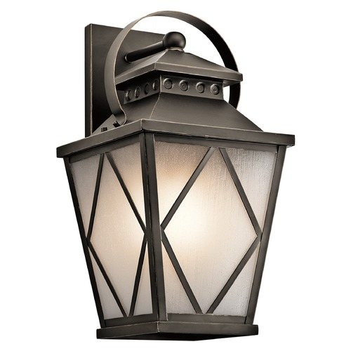 Kichler Lighting Kichler Lighting Hayman Bay Outdoor Wall Light 49293OZ
