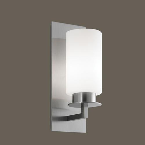 Norwell Lighting Norwell Lighting Jade Brush Nickel Sconce 9670-BN-MO