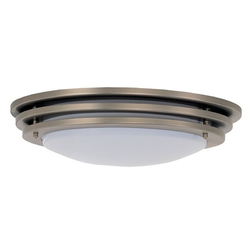Sea Gull Lighting Sea Gull Lighting Nexus Brushed Nickel LED Flushmount Light 5925191S-962
