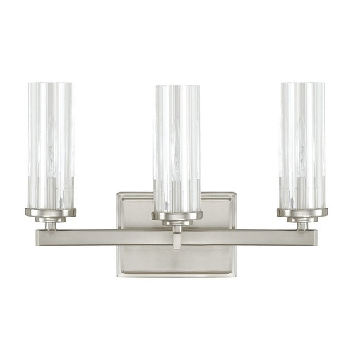 Capital Lighting Capital Lighting Emery Brushed Nickel Bathroom Light 8043BN-150