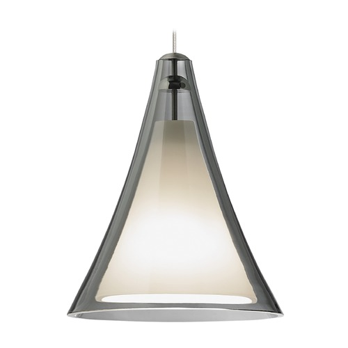 Tech Lighting Mini Melrose II Satin Nickel Mini-Pendant Light by Tech Lighting 700MPMMLKS